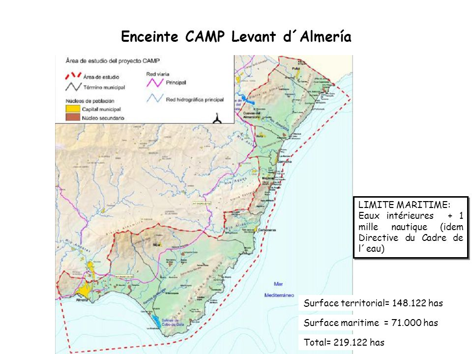 Enceinte CAMP Levant d´Almería