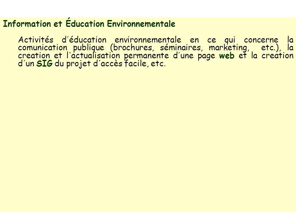 Information et Éducation Environnementale