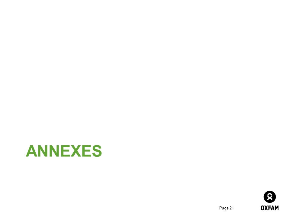 ANNEXES