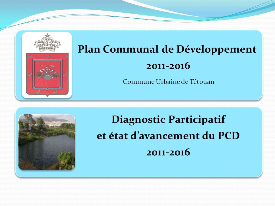 Plan Communal de Développement