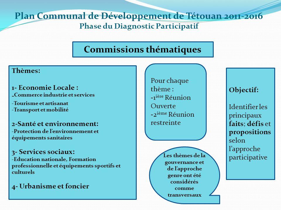 Commissions thématiques