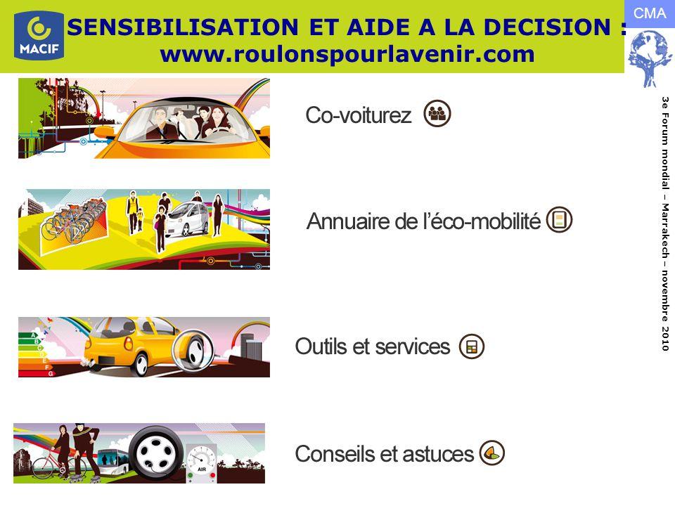 SENSIBILISATION ET AIDE A LA DECISION : www.roulonspourlavenir.com