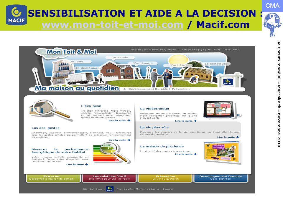 SENSIBILISATION ET AIDE A LA DECISION : www. mon-toit-et-moi