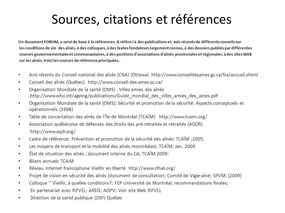 Sources, citations et références