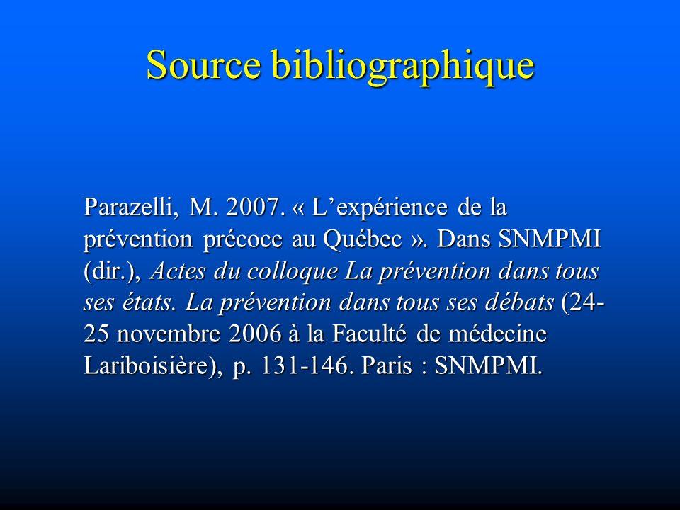 Source bibliographique
