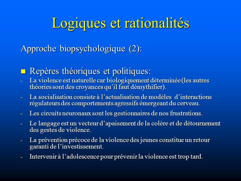 Logiques et rationalités