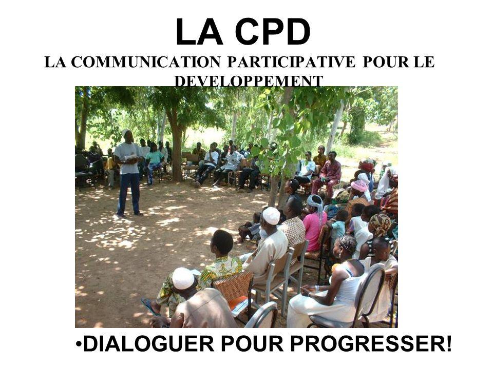 LA CPD DIALOGUER POUR PROGRESSER!