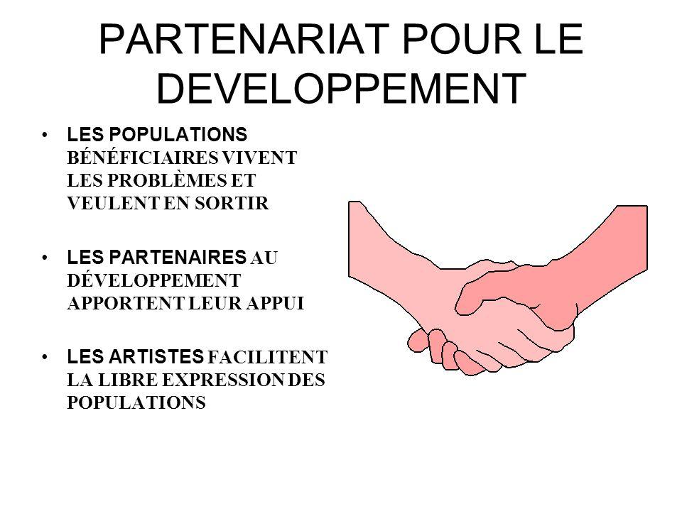 PARTENARIAT POUR LE DEVELOPPEMENT