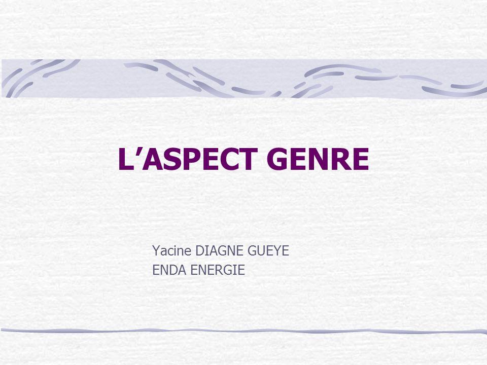 Yacine DIAGNE GUEYE ENDA ENERGIE