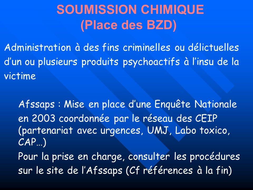 SOUMISSION CHIMIQUE (Place des BZD)