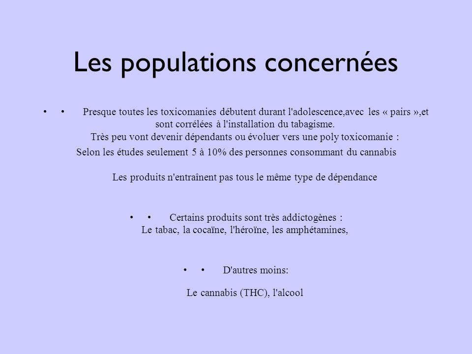 Les populations concernées