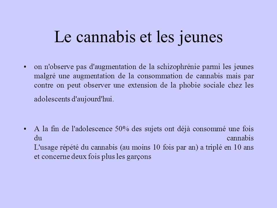 Le cannabis et les jeunes