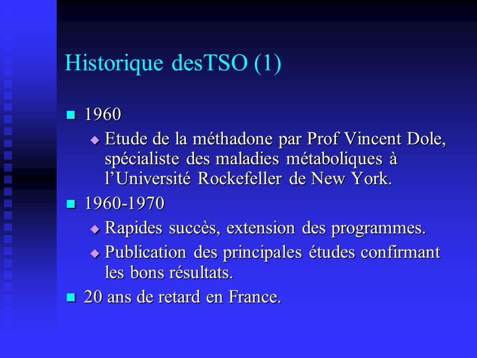 Historique desTSO (1) 1960.