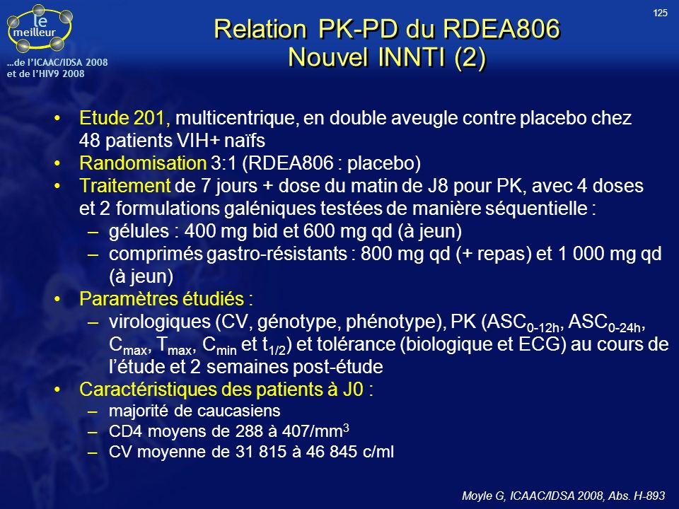Relation PK-PD du RDEA806 Nouvel INNTI (2)
