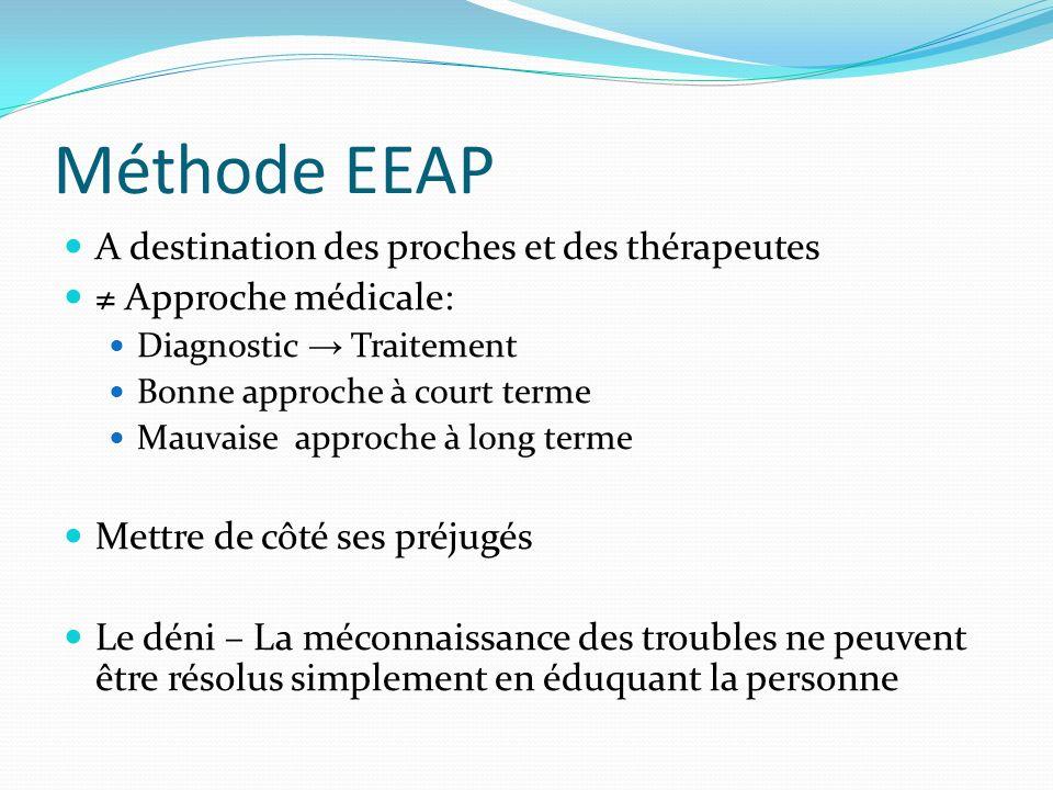 Méthode EEAP A destination des proches et des thérapeutes