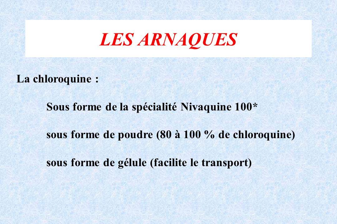 LES ARNAQUES La chloroquine :