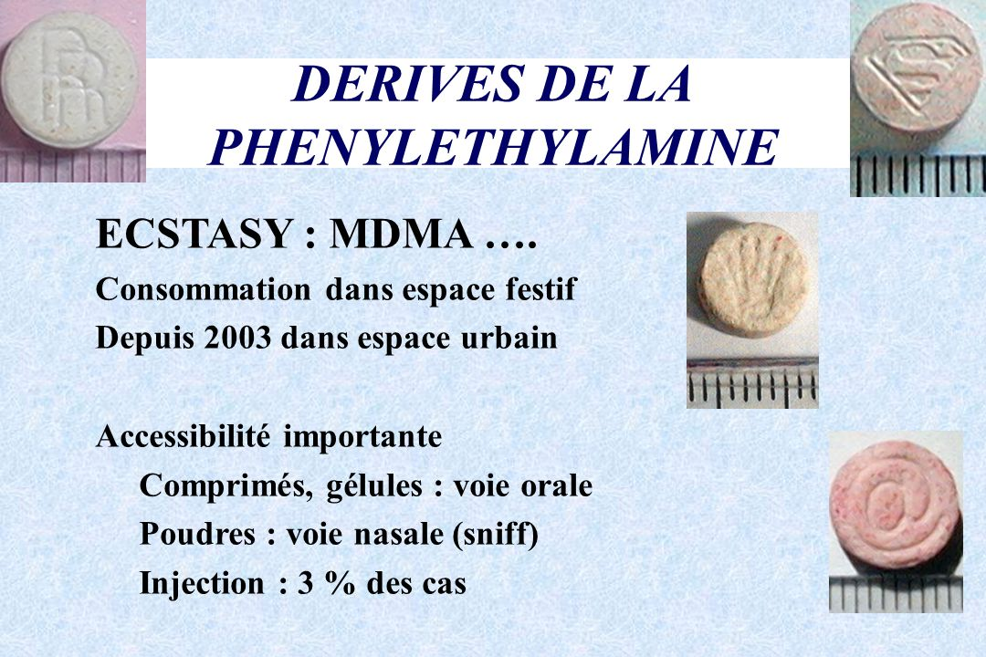 DERIVES DE LA PHENYLETHYLAMINE