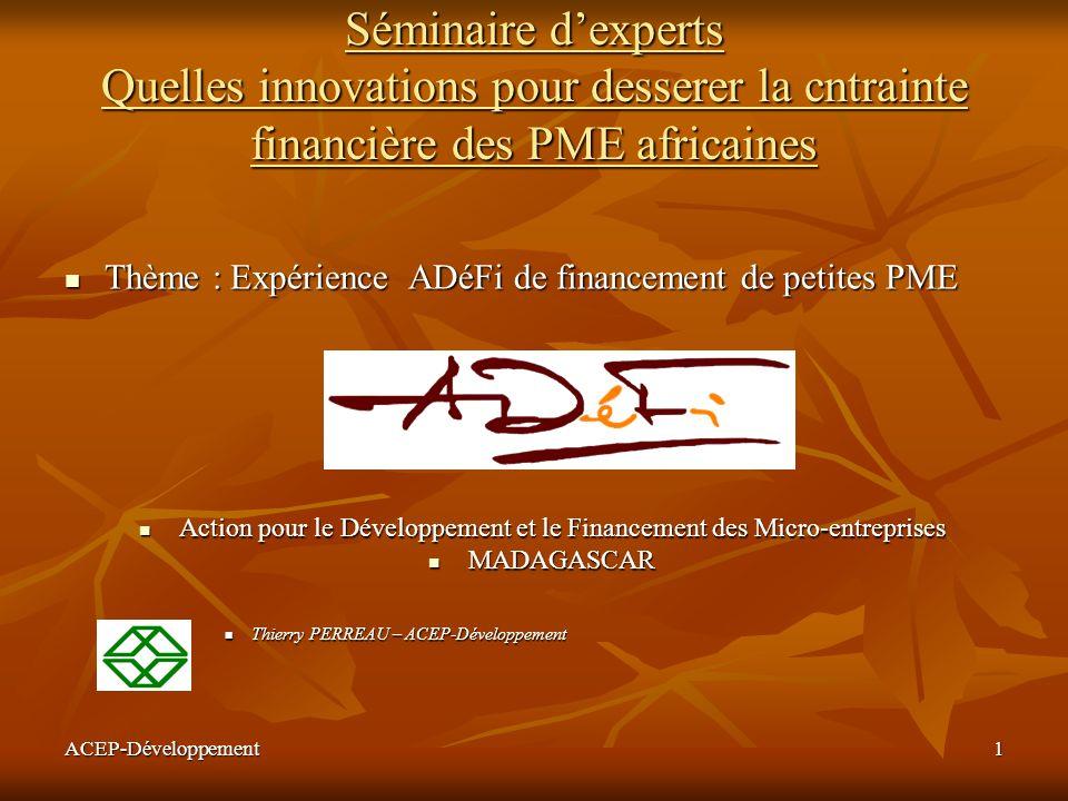 Action pour le Développement et le Financement des Micro-entreprises