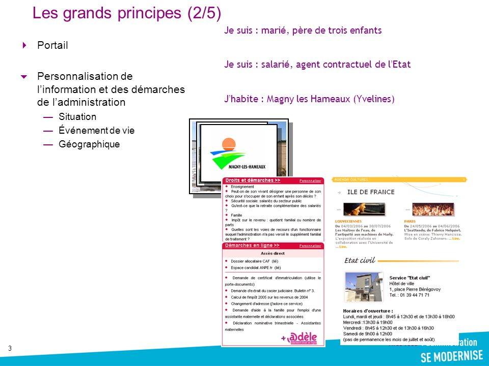 Les grands principes (2/5)