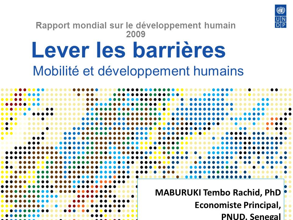 Lever les barrières Mobilité et développement humains