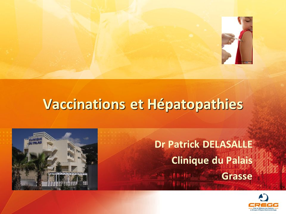 Vaccinations et Hépatopathies