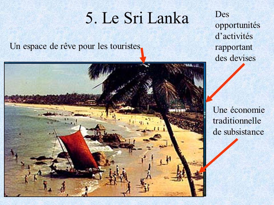 5. Le Sri Lanka Des opportunités d'activités rapportant des devises