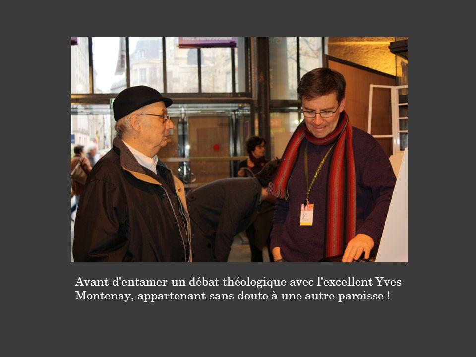 Avant d entamer un débat théologique avec l excellent Yves Montenay, appartenant sans doute à une autre paroisse !