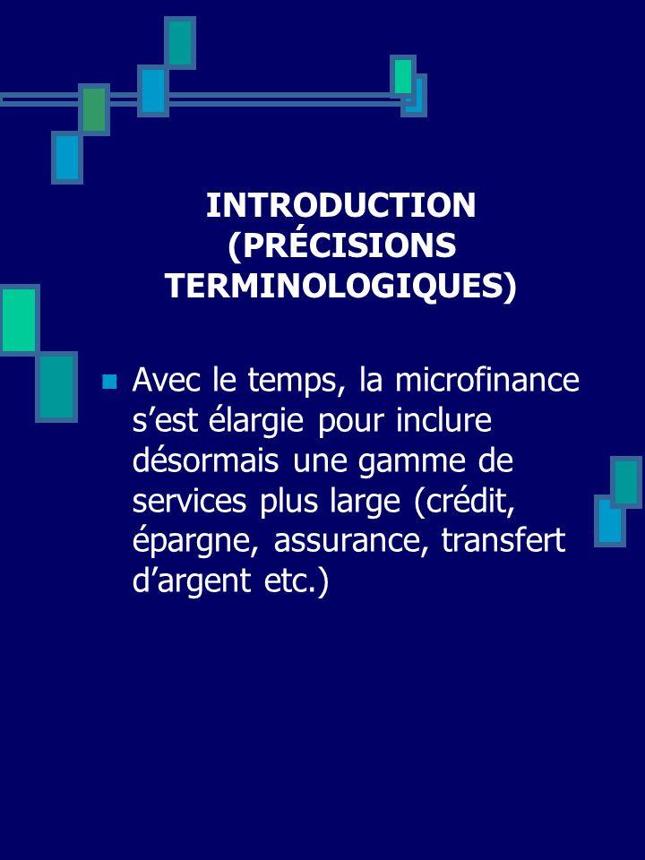 INTRODUCTION (PRÉCISIONS TERMINOLOGIQUES)