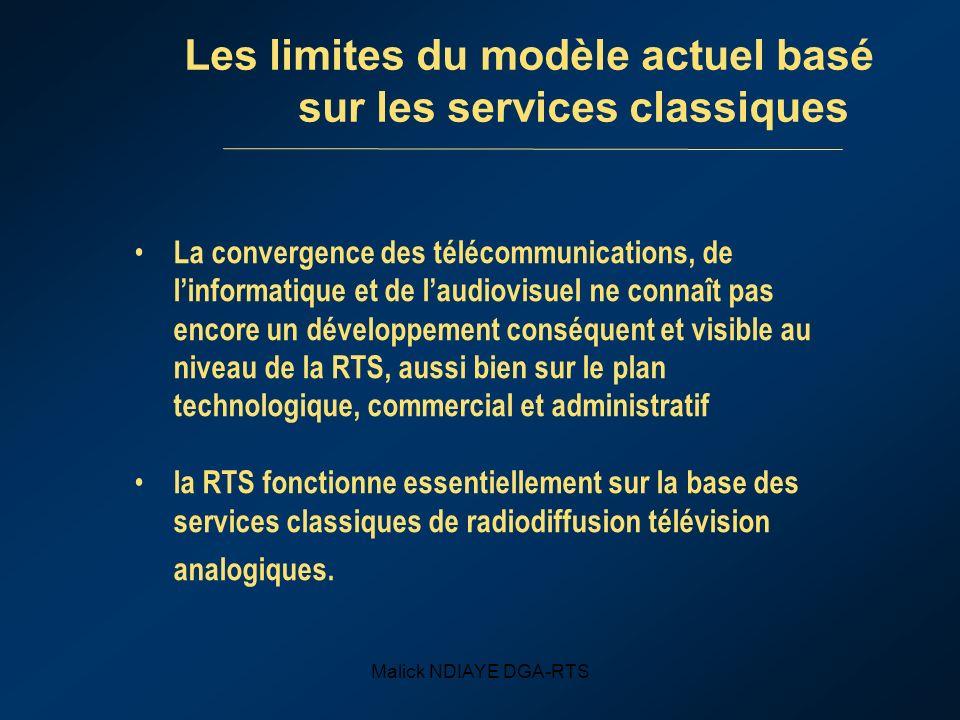 Les limites du modèle actuel basé sur les services classiques