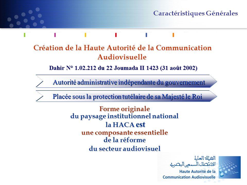 Création de la Haute Autorité de la Communication Audiovisuelle