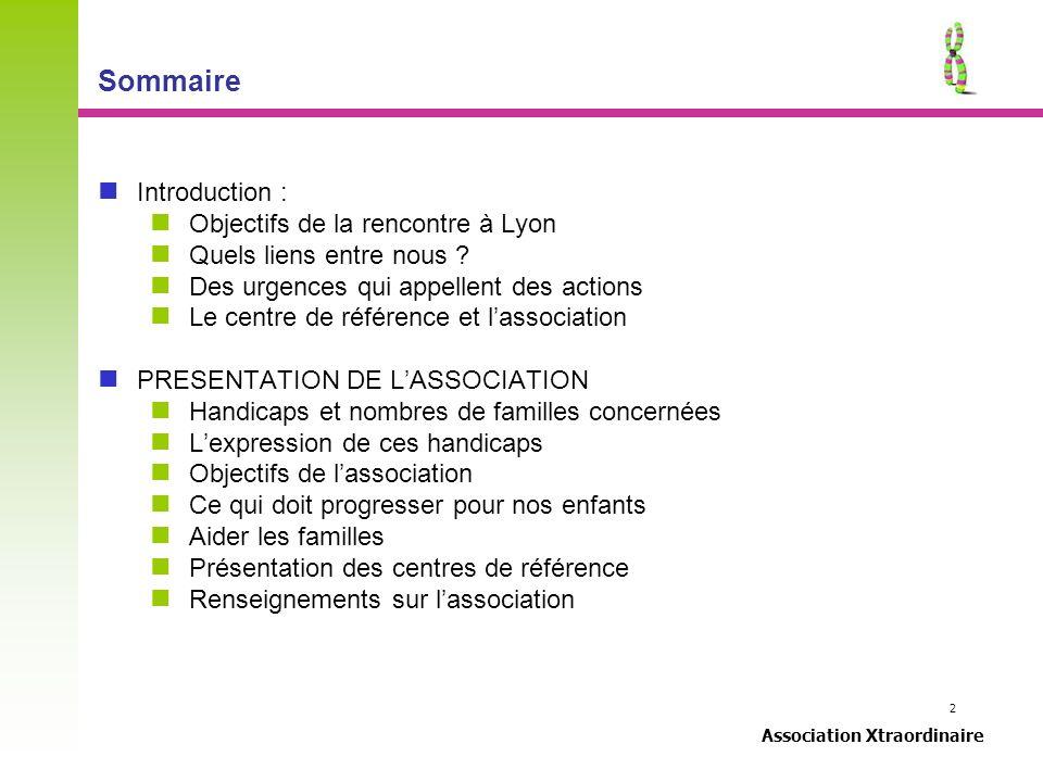 Sommaire Introduction : Objectifs de la rencontre à Lyon