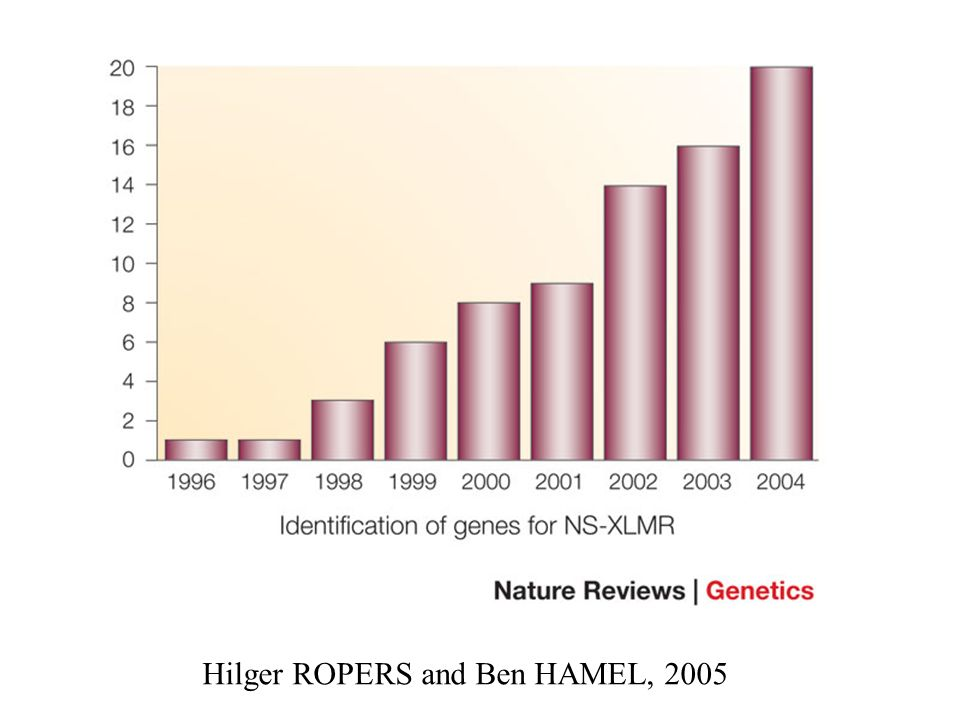 Hilger ROPERS and Ben HAMEL, 2005