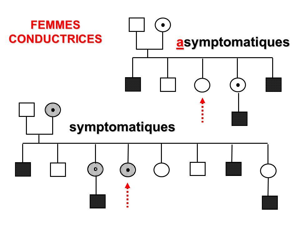 asymptomatiques symptomatiques