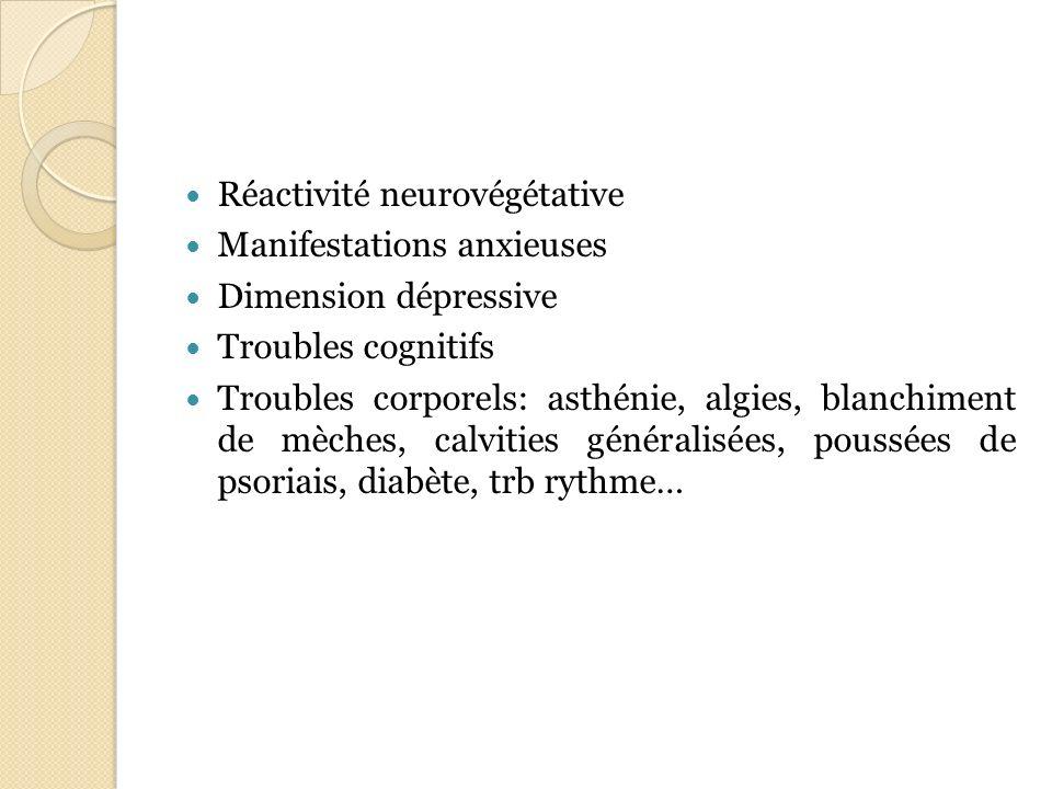 Réactivité neurovégétative