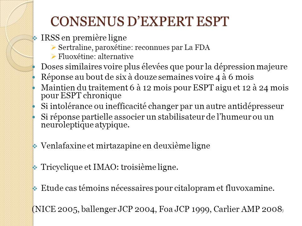 CONSENUS D'EXPERT ESPT