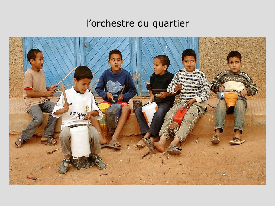 l'orchestre du quartier