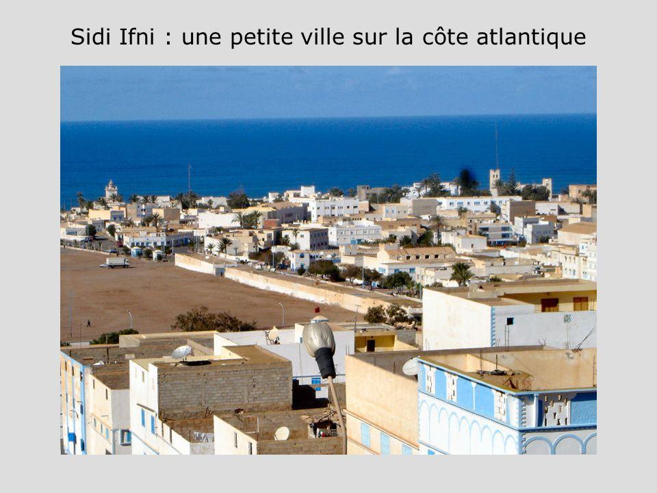 Sidi Ifni : une petite ville sur la côte atlantique