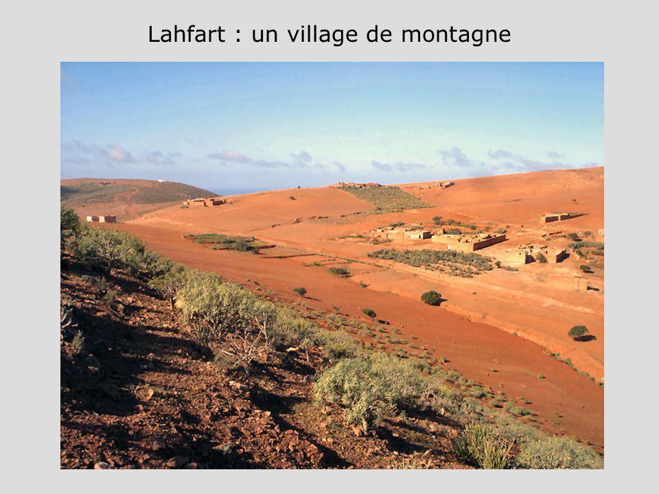 Lahfart : un village de montagne