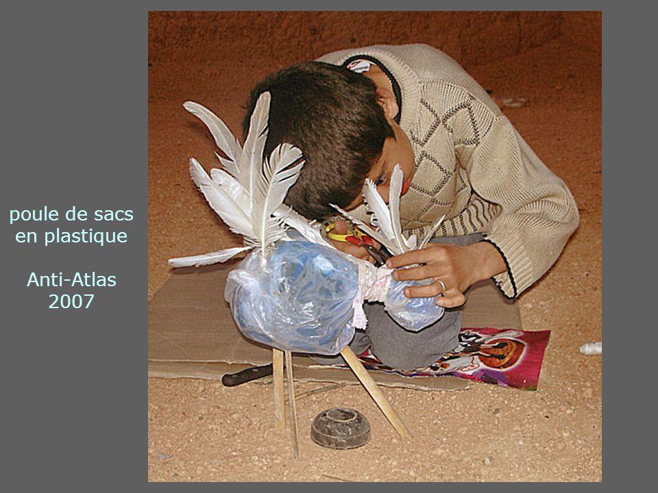 poule de sacs en plastique Anti-Atlas 2007