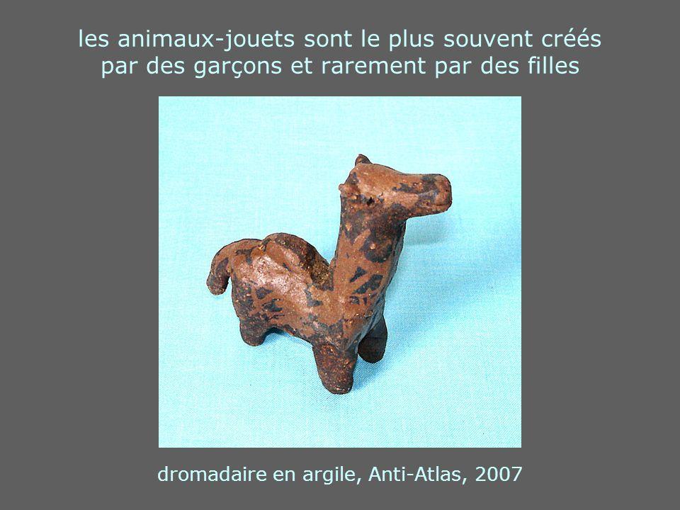 dromadaire en argile, Anti-Atlas, 2007
