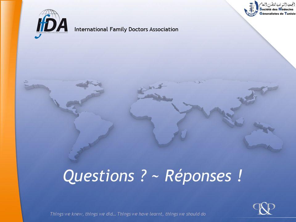 Questions ~ Réponses !