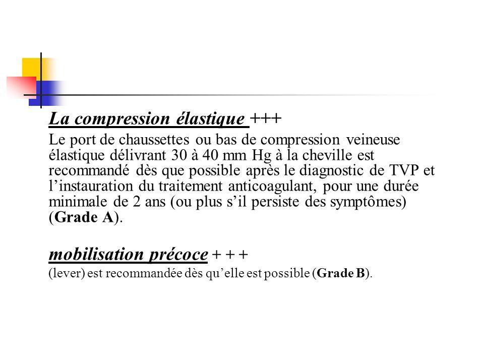 La compression élastique +++