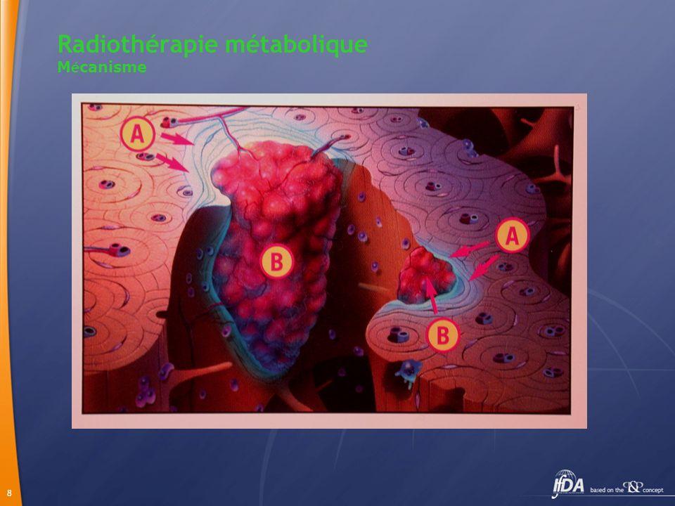 Radiothérapie métabolique Mécanisme