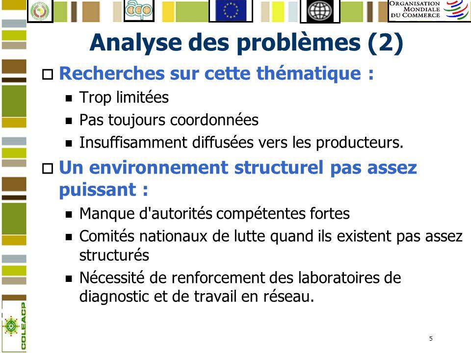 Analyse des problèmes (2)