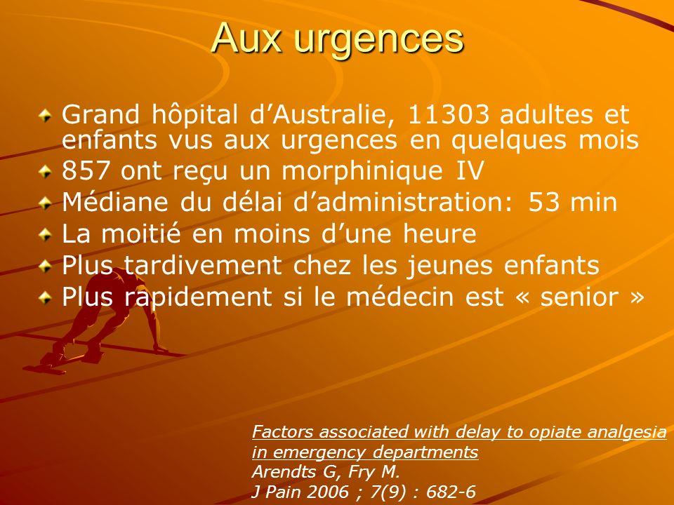Aux urgences Grand hôpital d'Australie, 11303 adultes et enfants vus aux urgences en quelques mois.