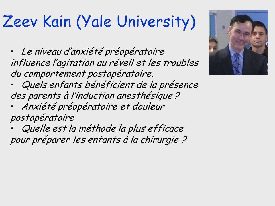 Zeev Kain (Yale University)
