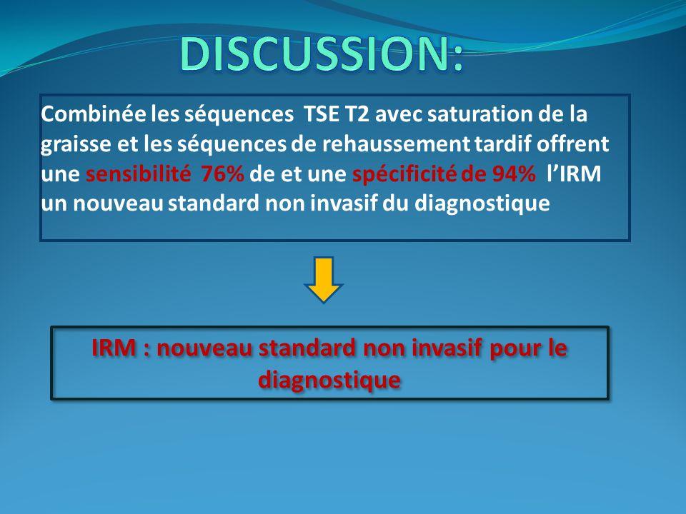 IRM : nouveau standard non invasif pour le diagnostique