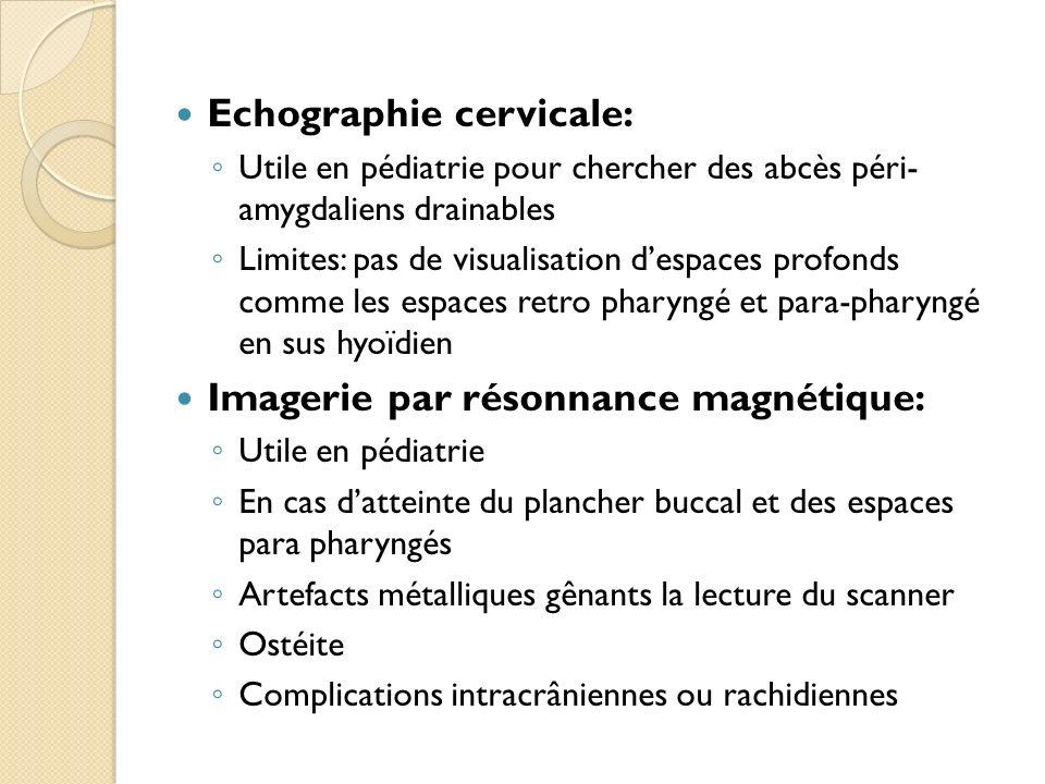 Echographie cervicale:
