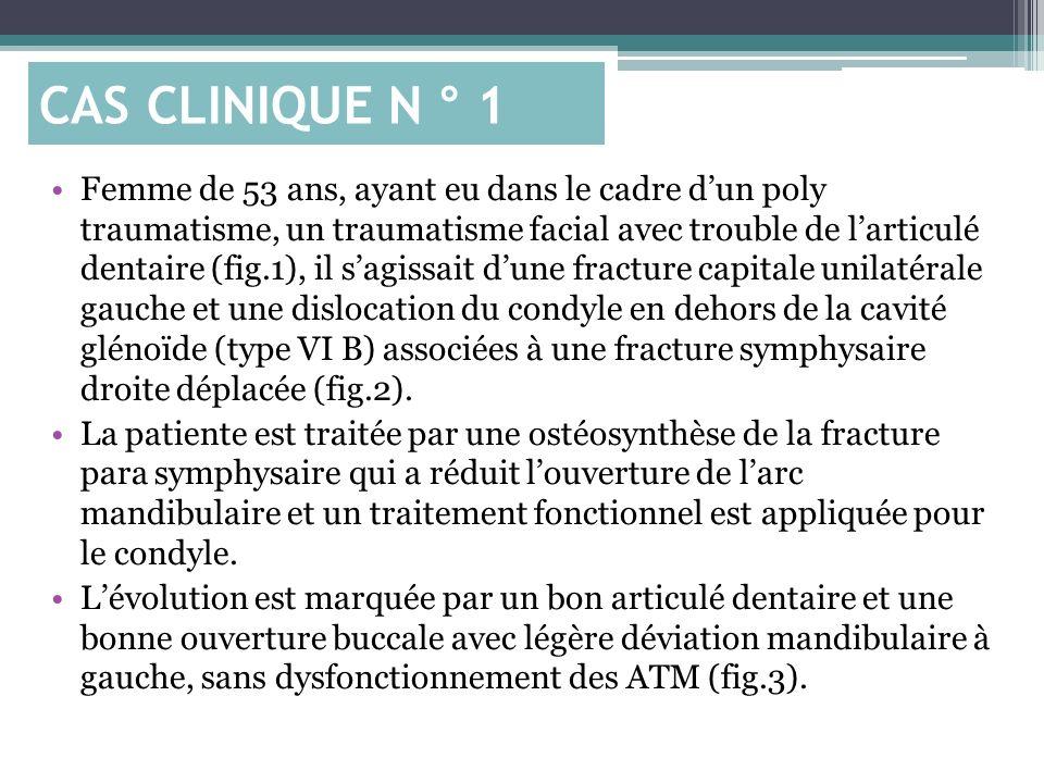 CAS CLINIQUE N ° 1