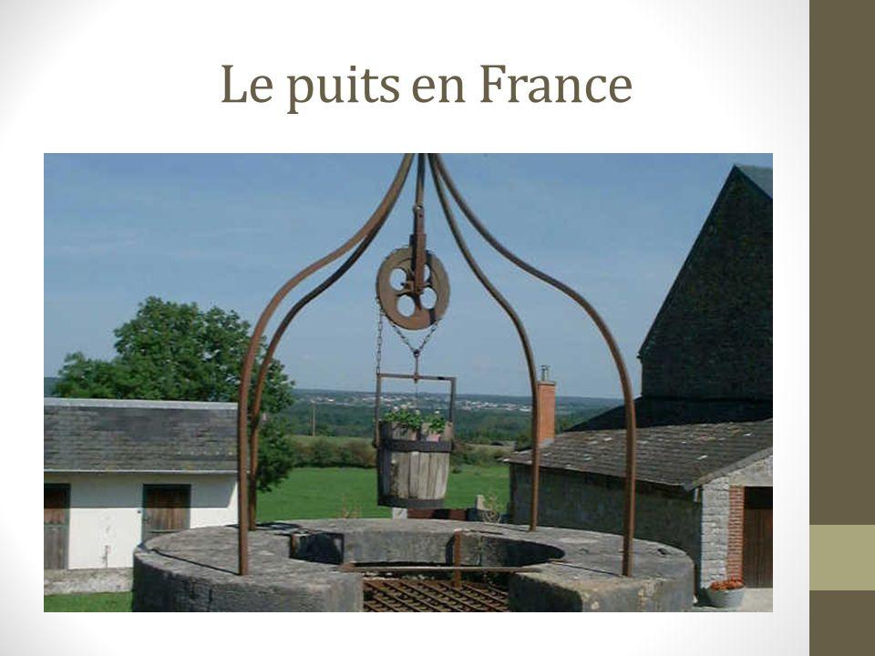 Le puits en France